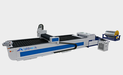 Automatic Rolling feeding fiber laser cutting machine RM-FR3015