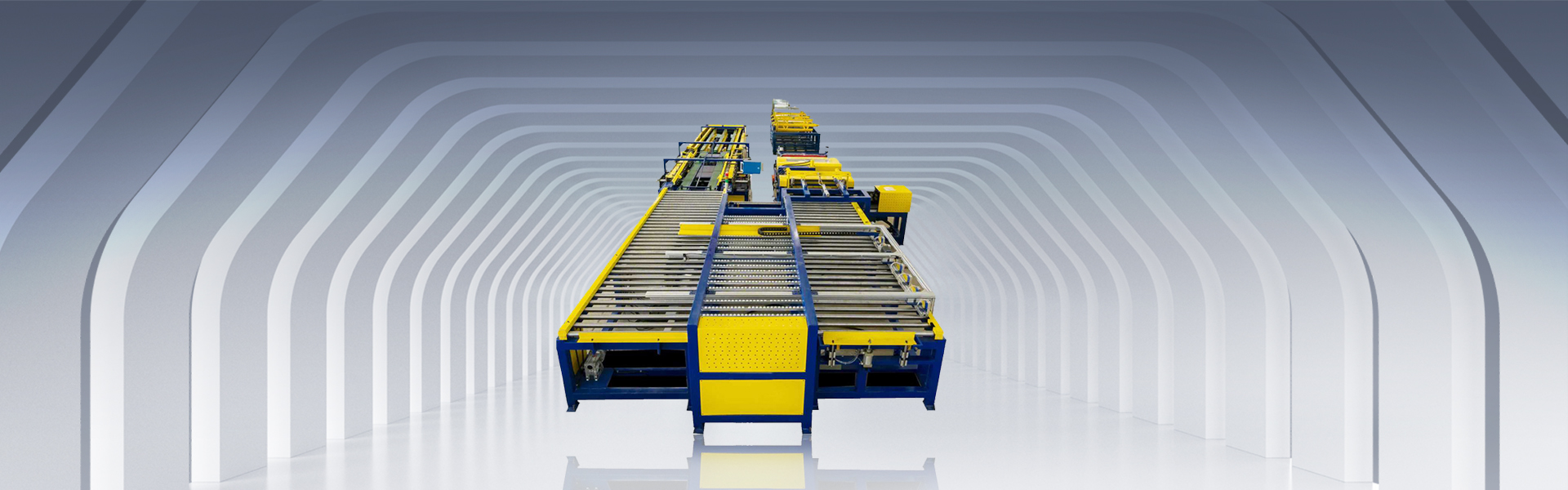 Automatic duct manufactuering line