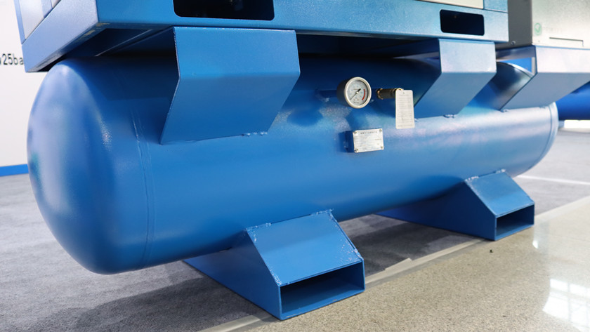 Why do air compressors need to be equipped with air storage tanks